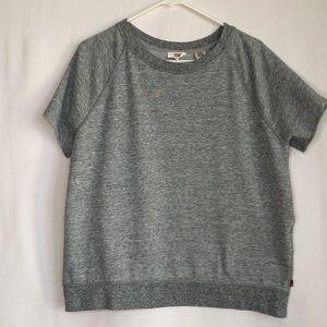 Levis Short Sleeve Sweatshirt